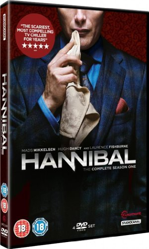 The Hannibal Complete TV Mini Series - Season 1 DVD Collection [4 Discs] Boxset + Extras by Mads Mikkelsen