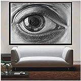 Auge Poster und Drucke Escher Surreal Kunstwerk Moderne