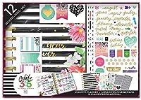 Create 365 Planner Box Kit- Best Year Ever/Stripes