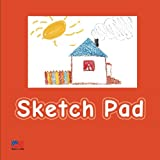 Sketch Pad: Orange - Drawing Sketch Pad, 100 pages, Soft Cover - [Art for kids]