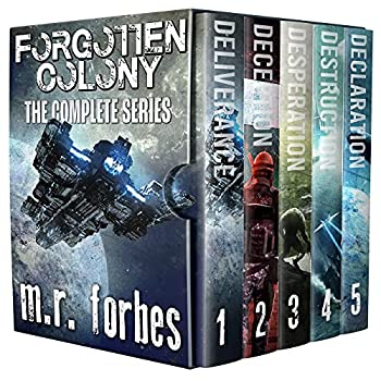 Forgotten Colony  The Complete Series  M.R Forbes Box Sets