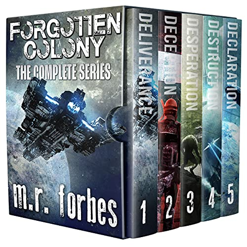Forgotten Colony: The Complete Series (M.R. Forbes Box Sets) (English Edition)