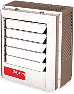 Dayton 10kW Electric Unit Heater, 1 or 3-Phase, 208V, 2YU71