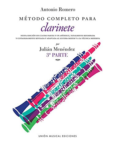 Romero Metodo Completo Para Clarinete (Menendez) Part 3 -
