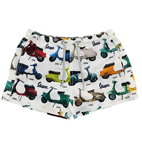 Scotch Painter's Tape Mc2 Saint Barth Boys Jeanvespastory01 White Polyester Trunks