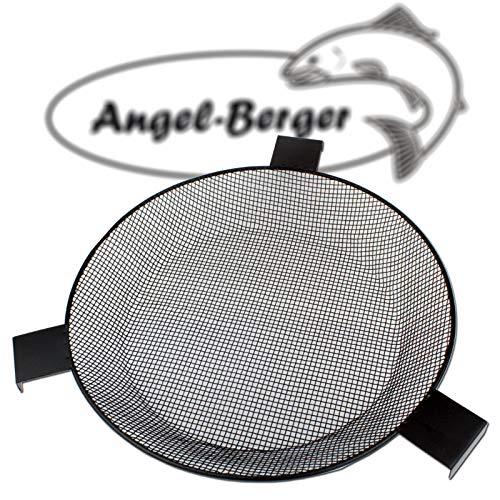 Angel-Berger Futtersieb rund 33cm 4x4 für Futtereimer und Angelfutter