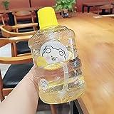 Vaso de Agua de Gran Capacidad Botella de Agua de Gran Capacidad 1l Botella de batido con Mango al Aire Libre Fitness Running Gym Training Plastic Sports Bottle (Capacity : 901-1000ml, Color : 6)