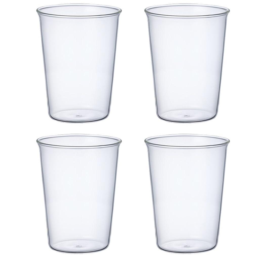 ほめる理想的にはしょっぱいKINTO (キントー) アイスティーグラス キャスト 350ml 4個セット 8431