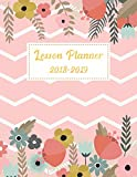 Lesson Planner 2018-2019: For Teacher Planning and Record Book Teaching Education Journal Writing School Weekly Organizer Time Management Notebook