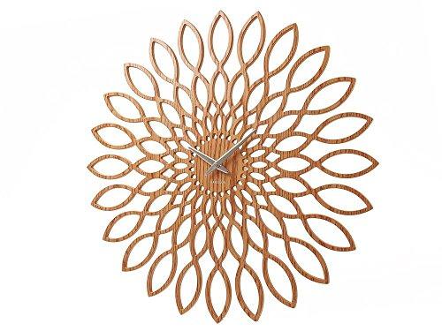 Karlsson Wanduhr Sunflower MDF Oberflche Holz