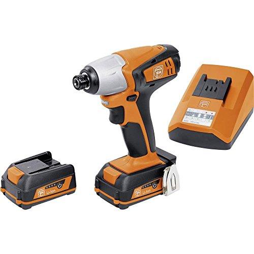 FEIN 71150361000 Akku-Schlagschrauber ASCD 12-100 W4C, 360 W, 12 V, Schwarz/Orange