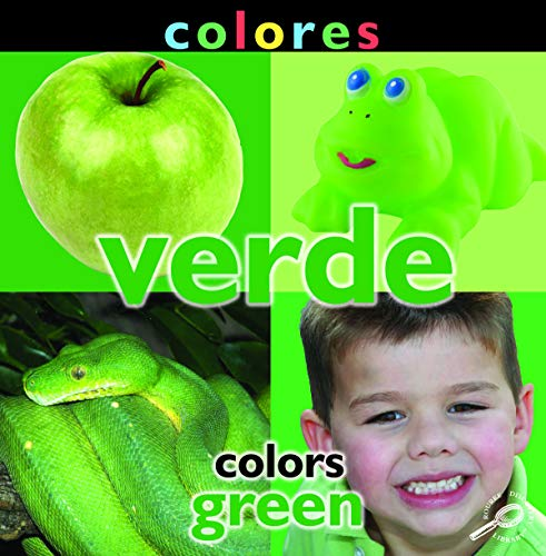 Colores: Verde: Colors: Green (Concepts) (English Edition)