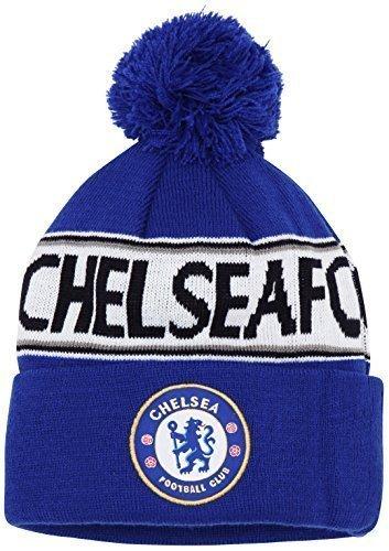 Official Football Merchandise-Artikel Chelsea Fc Junior Beanie Text