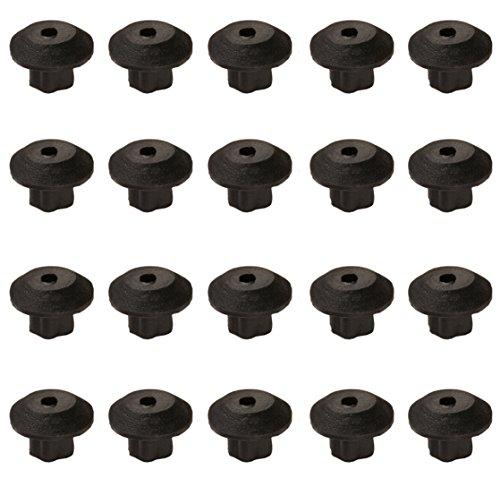 Viking Cooktop Range Grate Rubber Feet, Heat Resistant, PD040035 - 20 pack