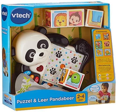 VTech Baby-  Puzzel & Leer Pandabeer – Multikleuren – Plastic – Voor Jongens en Meisjes – Van 2 tot 4 jaar – Nederlands Gesproken