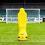 FORZA Pro Muñecos Hinchables para Entrenamientos de Fútbol – Barreras Defensas para Tiros Libres (Bolsa Opcional) (Pack de 1 - Junior, Sin Bolsa)