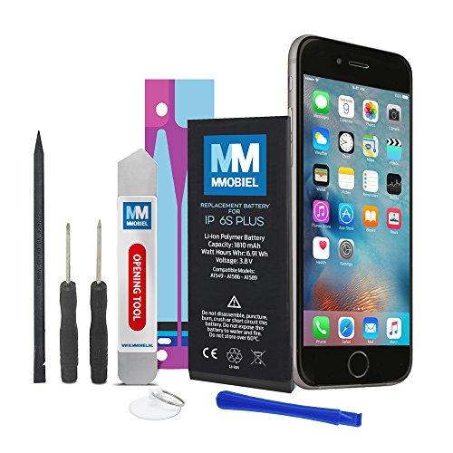 MMOBIEL Akku kompatibel mit iPhone 6S Plus Li-Ion Batterie 3.8v 2750 mAh 10.45 Wh mit Werkzeugset und Anleitung