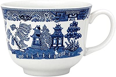Johnson Brothers Willow Blue Dinnerware 7 ounce Teacup A1400501079 by Johnson Brothers