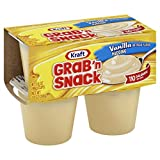 Grab 'n Snack Vanilla Pudding Dessert Cups (3.5 oz Cups, Pack of 48)