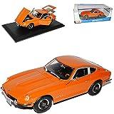 Nissan DatSun 240z 240 Z Orange 1970 Coupe 1/18 Maisto Modellauto Modell Auto