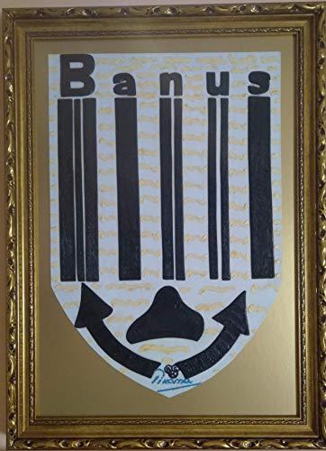 Barcode. Emblem. Puerto Banús. Sammlungsobjekt. Nur Preis September