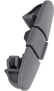 Slide Rail Stop Clip For W10508950 W10199682 Dishwasher Upper Dishrack replacement Whirlpool Maytag KitchenAid Kenmore Ikea Amana Replace 8562015 WPW10508950 2684662 AP6022472 PS11755805