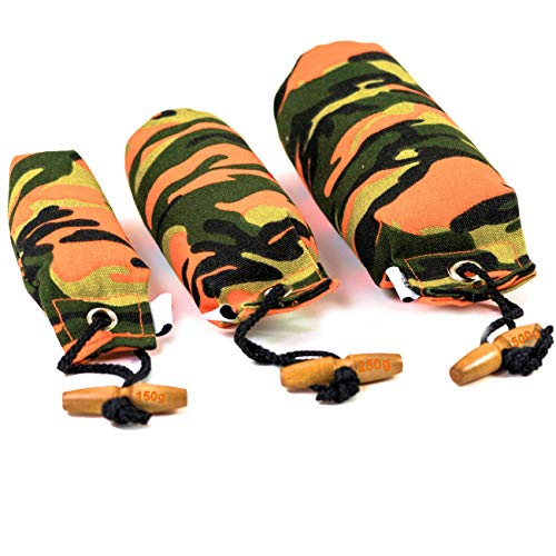 Procyon Apportier-Dummy zur Hundeerziehung in Camouflage-Optik Hundespielzeug, Hundetraining (1 x 500g)