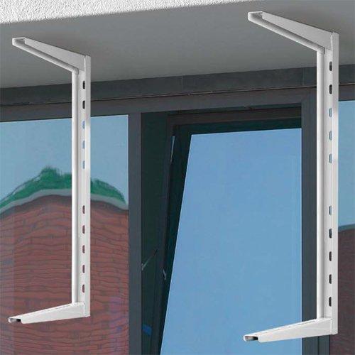Spezial Deckenhalter Wandhalter Halter Wandkonsole für Split Klima Klimaanlage Klimagerät 7000/9000 / 12000/18000 btu (Version1)