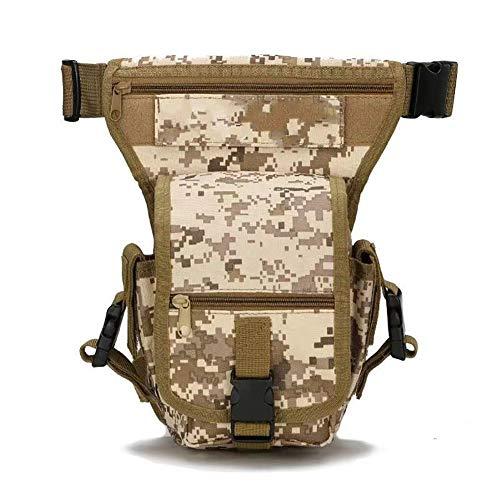 Maijia Beintasche für Herren, taktisch, Militär, für Reisen, Camping, taktisches Reiten, Radfahren, Angeln, Jagd, Wandern, Outdoor-Tasche Gr. One size, camouflage
