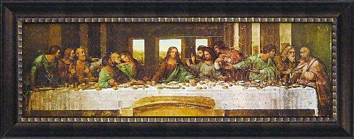 ユ-パワ- Museum Art ミュージアムシリーズ LLサイズ Gel加工アートフレーム レオナルドダヴィンチ 「最後の晩餐」 MW-18084