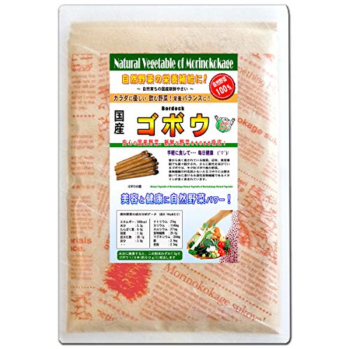 A 森のこかげ 国産 野菜 粉末 牛蒡 ごぼう ゴボウ 100g 野菜パウダー R