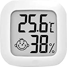 Termômetro higrômetro digital SWGG Higrômetro digital termômetro medidor de umidade interna Mini termômetro ambiente com d...