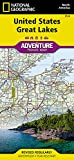 United States, Great Lakes (National Geographic Adventure Map, 3124)