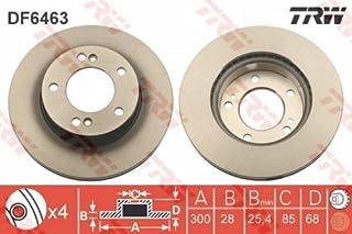 TRW DF6613S Rotores de Discos de Frenos