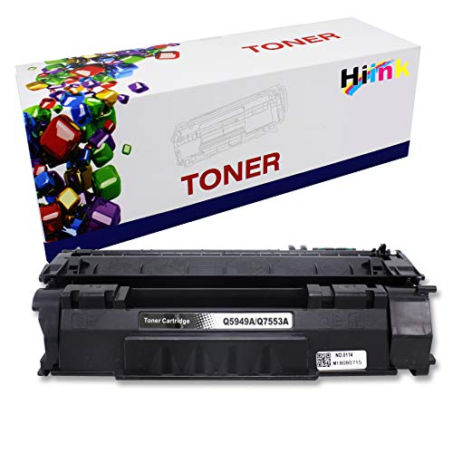 HIINK Compatible Toner Cartridge Replacement for HP Q5949A 49A Toner use with Laserjet 1160 1160Le 1320 1320n 1320nw 1320t 1320tn 3390 3392 Printers (1-Pack)