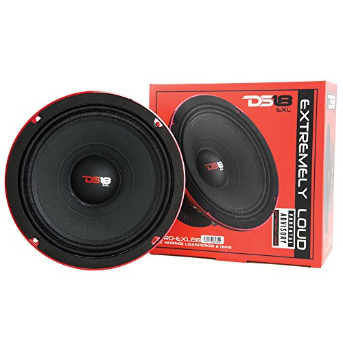 Learn More About DS18 EXL-MM88 800 Watt Competition-Grade Midrange Speaker
