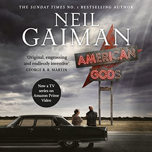 American Gods audiobook cover art