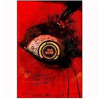 Suuyar スリラーホラーイービルデッド2013映画フィルムクラシックウォールアートポスターとプリントリビングルーム装飾用キャンバスに印刷-20X30インチX1フレームレス