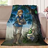 Elliot Dorothy Legends of Zelda Breath of the Wild Daruk Game - Manta de franela de forro polar, manta de microfibra ligera, microfibra, colorido, 35'x60'(W90cmxL152cm)