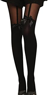 Moda Donna Cavo Ricamato Motivo A Righe Moda Calzini Taglia 4-6