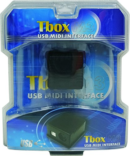 Tbox M3 IN OUT Thru USB MIDI Interface