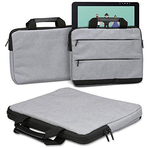 Beschermhoes Wacom Cintiq Pro 13 inch pen display grafisch tablet tas sleeve case potloodtablet hoes in grijs draagtas met handgrepen universele beschermhoes