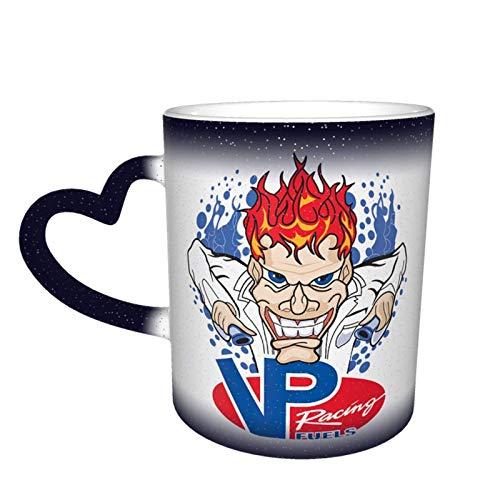 Vp Racing - Tazze da caffè sensibili al calore, set di colori carini tè caffè unico cambiando tazza di calore