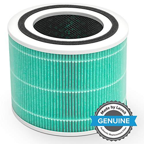 Levoit Core 300 Ersatzfilter für Wohnung Schlafzimmer, hocheffizienter HEPA & Aktivkohlefilter gegen Rauch Gerüche Formaldehyd Staub Allergene, Core 300-RF-TX