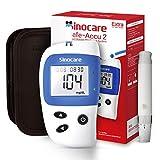 sinocare Medidor De Glucosa En Sangre tiras/Diabetes StripsTiras de diabetes/tiras de prueba de glucosa en sangre sin código x 10 diabéticos (para Safe-Accu 2). (Safe Accu2 10 kit)