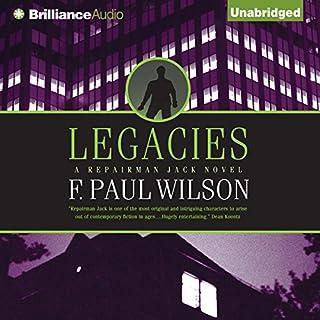 Legacies audiobook cover art