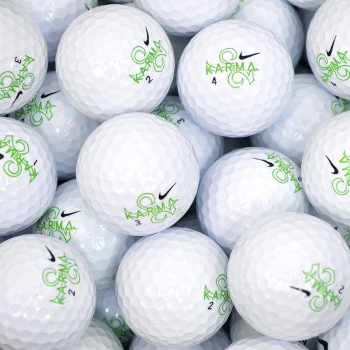 Second Chance Nike Karma, Set 100 Palline da Golf, Categoria A Unisex-Adulto, Bianco