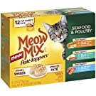Meow Mix Pate Toppers Seafood & Poultry Wet Cat Food Variety Pack