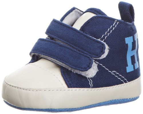 Tommy HilfigerZac 8 - Botas para niño, Color Azul, Talla 6-9 Meses