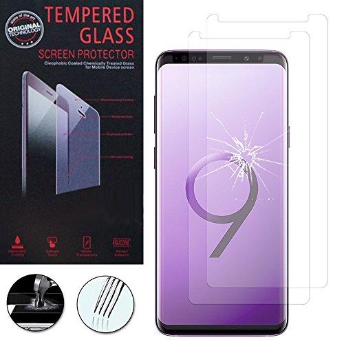 """ShopInSmart®, 2 pellicole protettive in vetro temperato di alta qualità per Samsung Galaxy S9 5,8"""", trasparenti"""